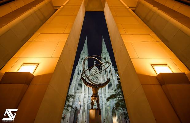 Atlas & Saint Patrick's Cathedral II