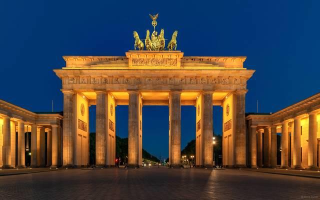 Am Brandenburger Tor [Berlin]