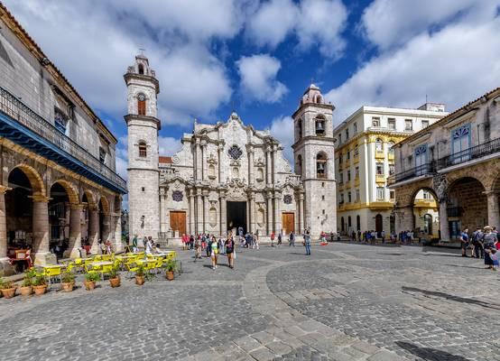 Havana Cathedral , Cuba