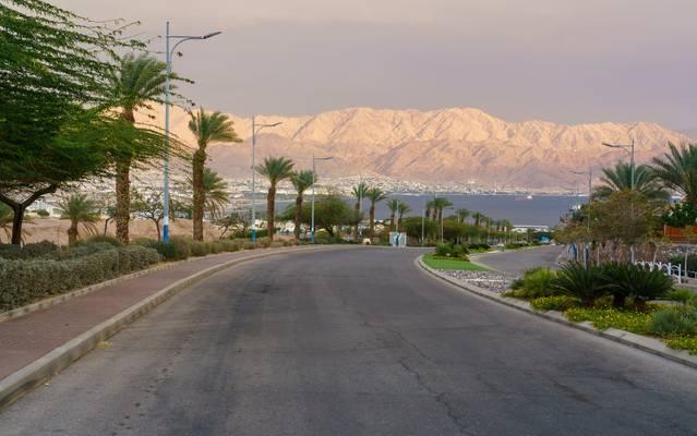 Eilat, Blick auf das Rote Meer
