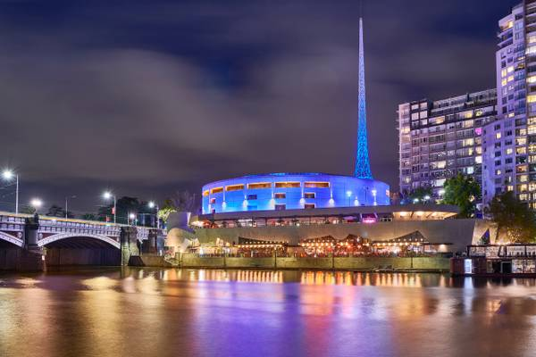 Arts Centre and State Theatre - Melbourne, Australia