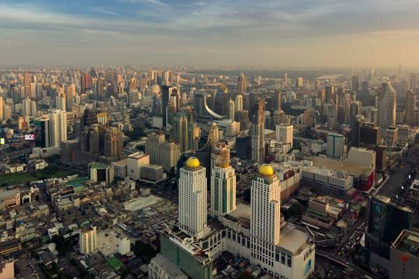 Bangkok - View from Baiyoke II Tower