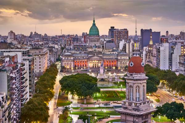 Palace of the Argentine National Congress, Buenos Aires - Argentina