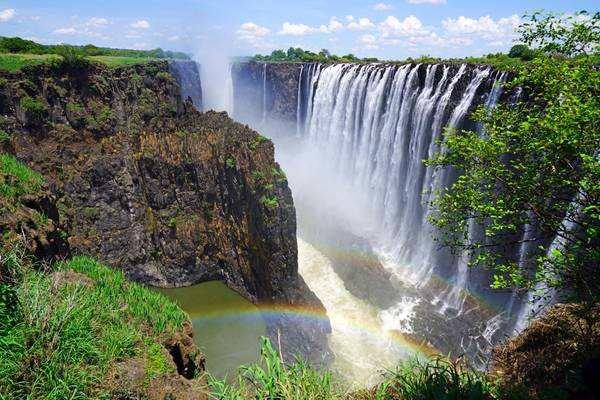 Victoria Falls from Knife Edge