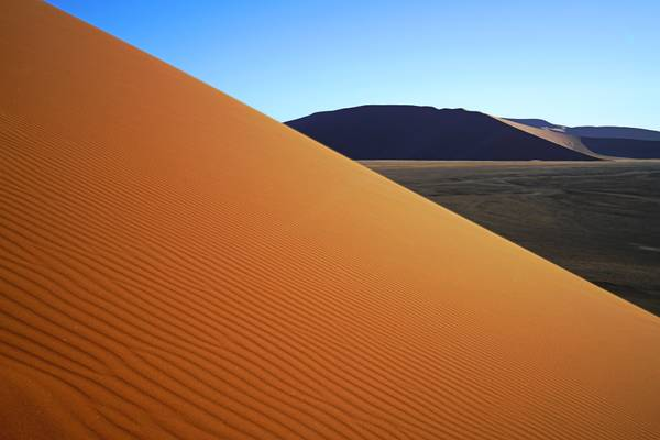 Magnificent pattern of the dune, Sossusvlei, Namibia