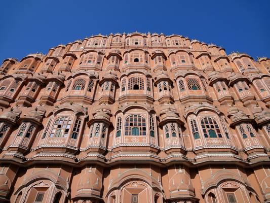 The Hawa Mahal, Jaipur, Rajasthan, India  - जैपर, उदैपर, भारत