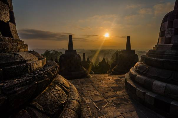 Borobudur (top platform)