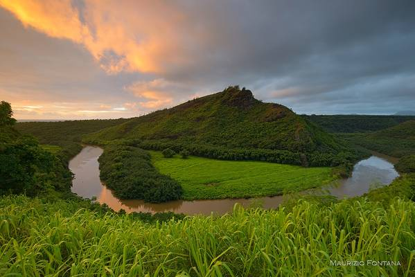 Wailua river sunrise