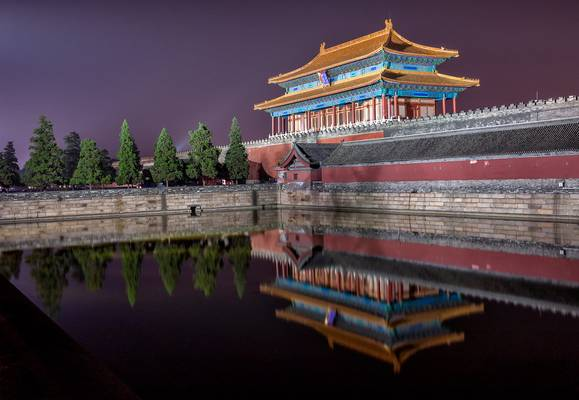 The Gate of Divine Might,Forbidden City 故宫神武门