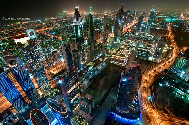 Dubai from Emirates Financial Towers