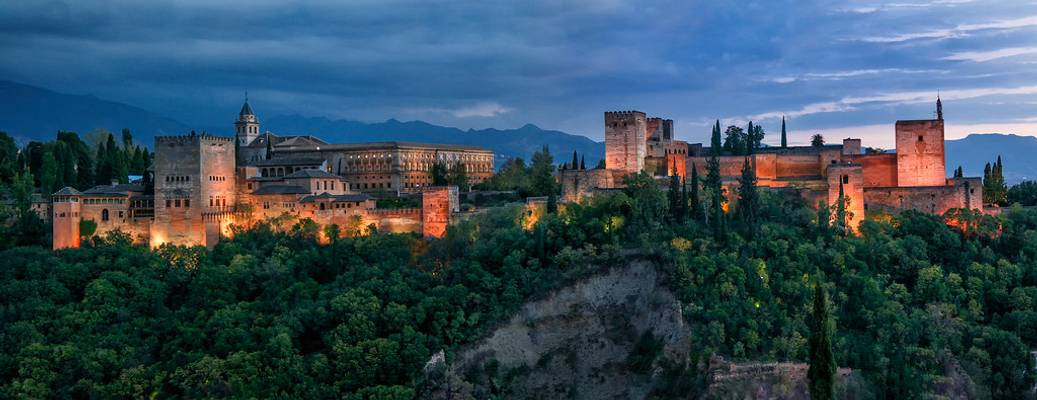 The Alhambra Night-- Granada. Spain
