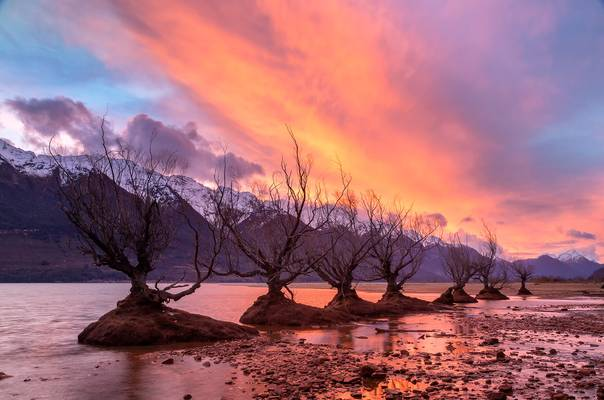 Sunset at Glenorchy
