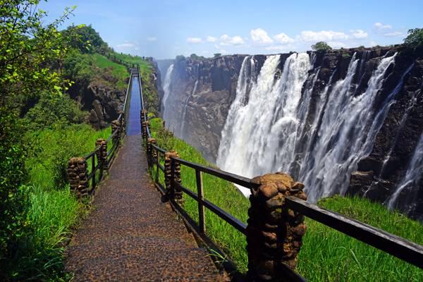 Knife Edge Bridge, Victoria Falls