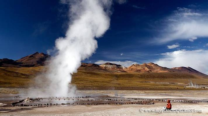 The El Tatio Geysers - Altiplano, Chile