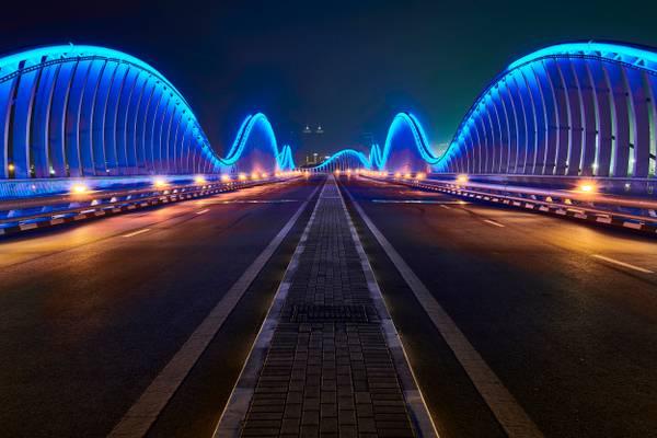 Meydan Bridge - Dubai