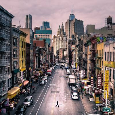 Chinatown - New York - Color street photography