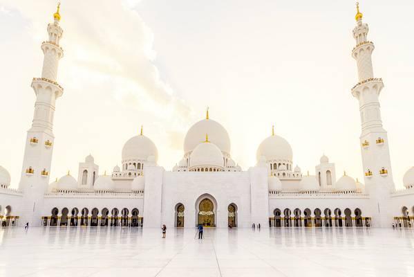 Grand Mosque Sheikh Al Zayed Abu Dhabi 01