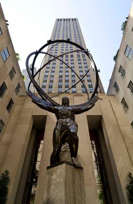 Atlas Sculpture, New York