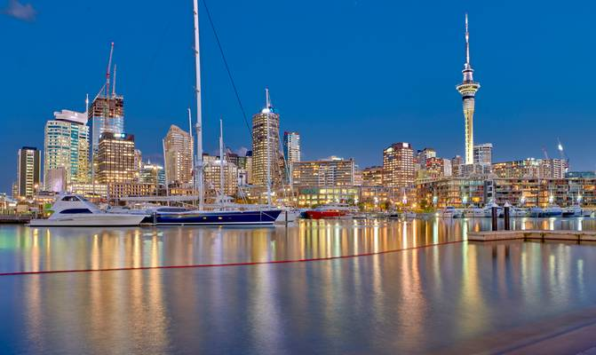 Auckland Marina - New Zealand