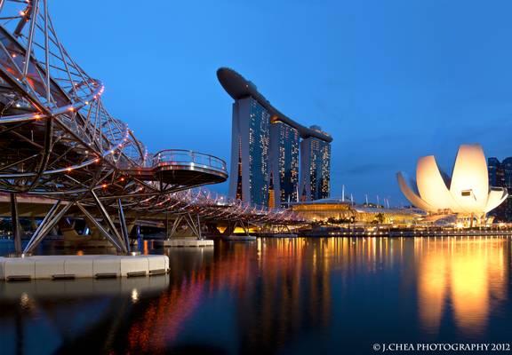 Marina Bay Sands Reflections