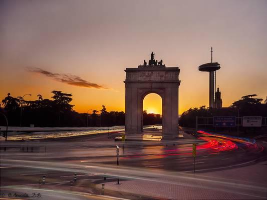 El Arco de la Victoria - Madrid