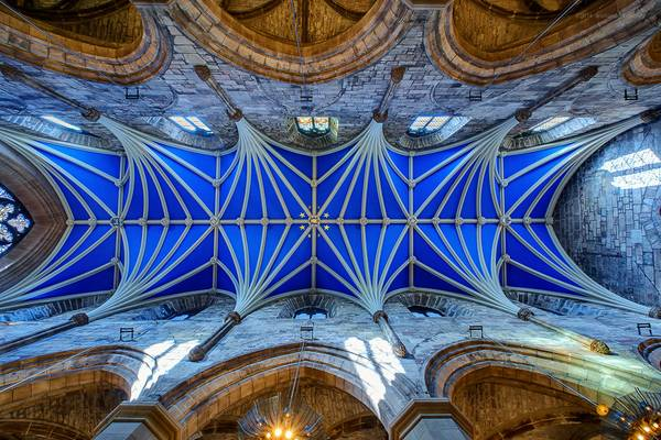 Ceiling of St. Giles Cathedral, Edinburgh