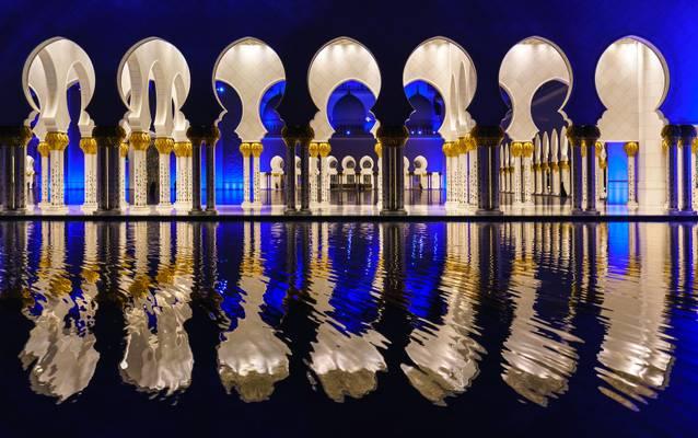Abu Dhabi, Sheikh-Zayed-Moschee