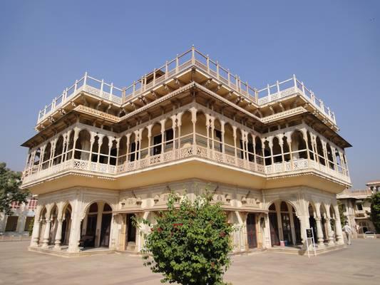 The Maharajah palace, Jaipur