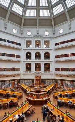 Victoria State Library - Melbourne, Australia