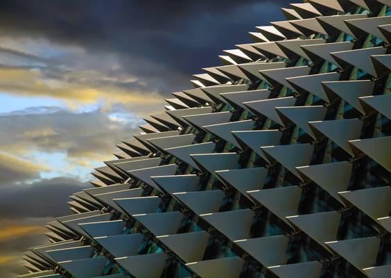 Singapur, Dach der Esplanade