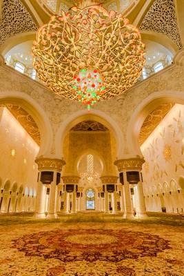 Grand Mosque Sheikh Al Zayed Abu Dhabi 05