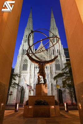 Atlas & Saint Patrick's Cathedral