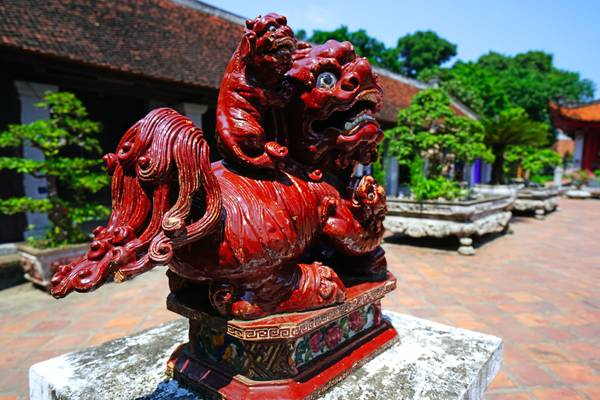 Guardian of the Temple of Literature