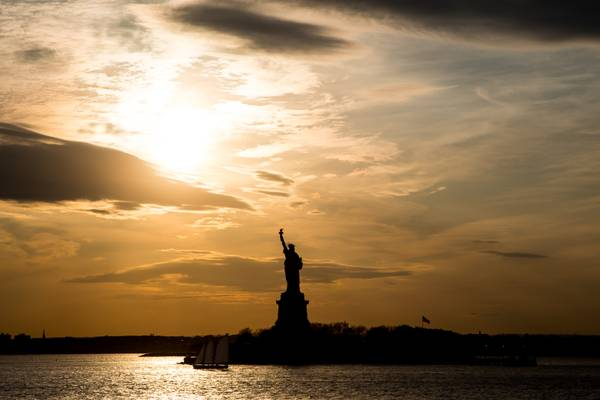 Statue of Liberty Before The Sunset