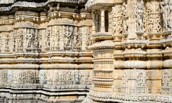 Ranakpur, Rajasthan, India  - रणकपुर, उदैपर, भारत