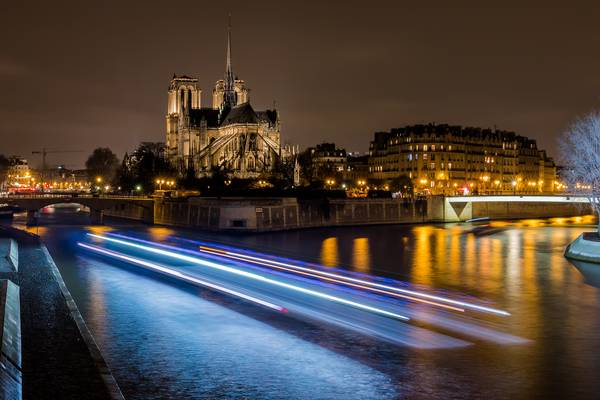 Our Lady of Paris - Notre Dame de Paris by night (Parigi)