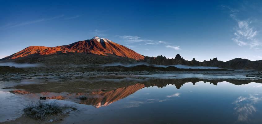 Teide Reflections