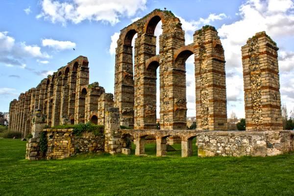 Acueducto romano Los Milagros (Mérida)