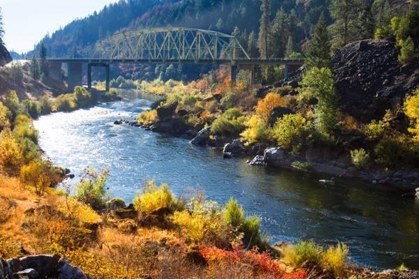 Hellgate Canyon, Oregon