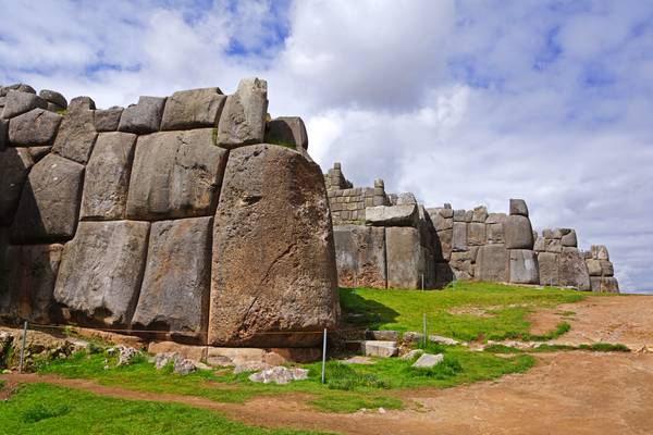 Stone walls of Saksaywaman, Cuzco