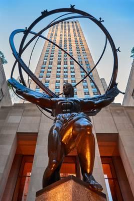 Atlas Sculpture, New York