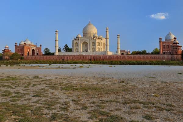 Taj Mahal Sunset - Agra - India