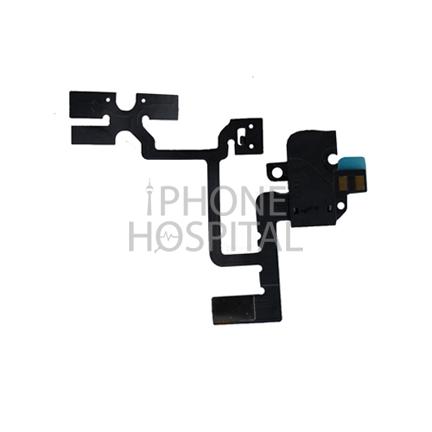 Audio-Jack Flex-Kabel in Schwarz für iPhone 4