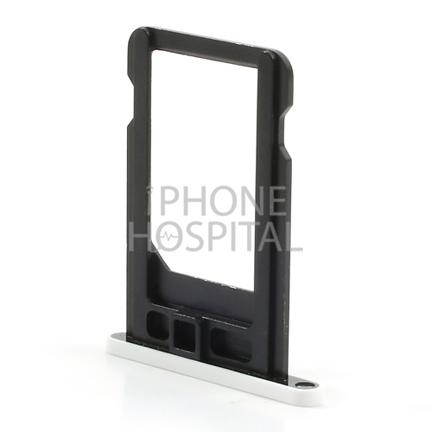 SIM-Tray in Weiß für iPhone 5C