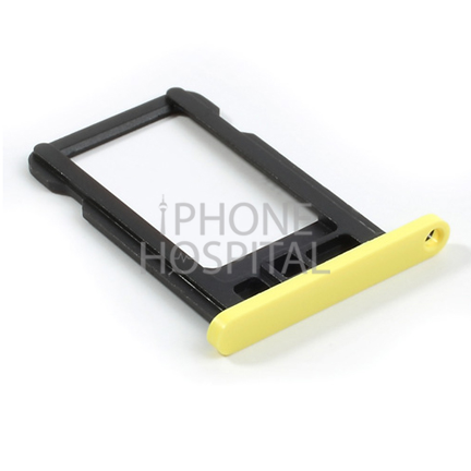 SIM-Tray in Gelb für iPhone 5C