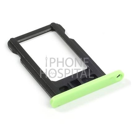 SIM-Tray in Grün für iPhone 5C