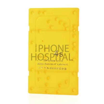 Schrauben-Schablone für ein iPhone 4S