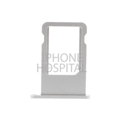 SIM-Tray in Silber für iPhone 6