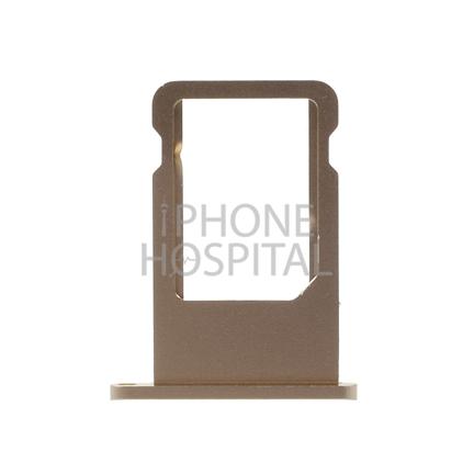 SIM-Tray in Gold für iPhone 6