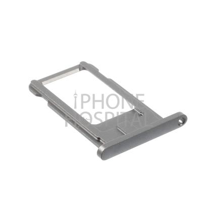 SIM-Tray in Spacegrau für iPhone 6